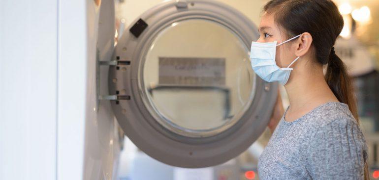 Prêt rapide pour une nouvelle machine à laver